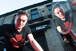 Mathew Horne. New Channel 4 Music Show, Sounds From The Cities hosted by star of Gavin & Stacey, Mathew Horne, being filmed at he Electric Circus, in Edinburgh.