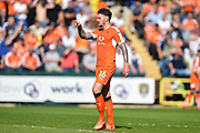 Luton Town defender Glen Rea (16) during the EFL Sky Bet League 2 match between Notts County and Luton Town at Meadow Lane, Nottingham, England on 5 May 2018. Picture by Jon Hobley.