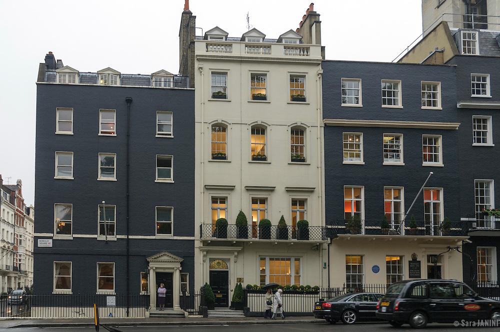 Berckeley Square, Mayfair, London, England, UK, Europe