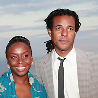 Chimamanda Ngozi Adichie and Colson Whitehead in Capri for &quot;Le Conversazioni&quot; (The Conversations). Capri, Italy. 27/6/2010<br /> <br /> copyright Steve Bisgrove/Writer Pictures<br /> contact +44 (0)20 822 41564<br /> info@writerpictures.com<br /> www.writerpictures.com