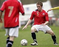 Fotball<br /> Landskamp G15<br /> Sverige v Norge 0:3<br /> Arvika<br /> 23.09.2010<br /> Foto: Morten Olsen, Digitalsport<br /> <br /> Kent-Are Antonsen  -  Storsteinnes