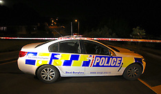 Auckland-Double stabbing in Lynfield