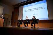 "The New York Enterprise Report presentd the 2nd annual International Business Opportunities Conference. Craig Schlanger, Co-founder, Apple Seeds participates in panel, ""International Business Success Stories: How They Thrived."" Incorporating lessons learned from the latest opportunities and pitfalls, The International Business Conference provided attendees with critical information and resources needed to thrive in the growing global marketplace. Experts provided insight for those currently doing business overseas or are considering doing so. The conference featured 6 sessions designed to help participants achieve international business success.The conference was held Wednesday, November 9, 2011 from 8:00am to1:00pm at The Graduate Center in New York."