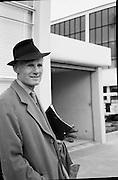 Sir John Gielgud & John Penny at Dublin Airport..23.04.1961