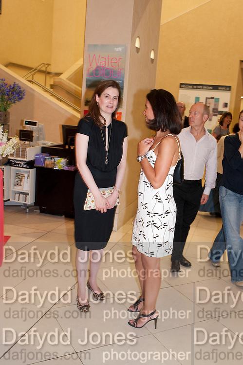 VIOLET FRASER; BARBARA PANSADORO, Tate Britain Summer party. Tate. Millbank. 27 June 2011. <br /> <br />  , -DO NOT ARCHIVE-© Copyright Photograph by Dafydd Jones. 248 Clapham Rd. London SW9 0PZ. Tel 0207 820 0771. www.dafjones.com.
