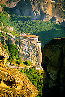 Roussanou Monastery, (a.k.a. Ayia Barbara), The Meteora, near Kalambaka, Greece
