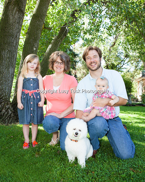 Family Portrait with Pet,
