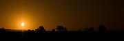August Sunrise near Guimene-Penfao in Bretagne, France.