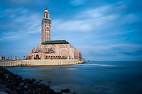 CASABLANCA, MOROCCO - CIRCA APRIL 2018: Mosque  Hassan II in Casablanca.