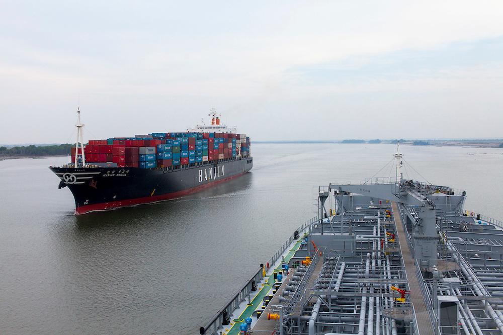 Tanker Vessel - Photographed for Savannah Magazine