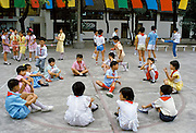 Chinese children at the Children's Palace in Canton China