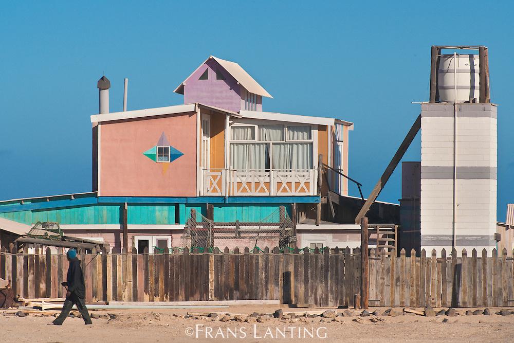 Coastal home, Sandwich Harbour, Namibia