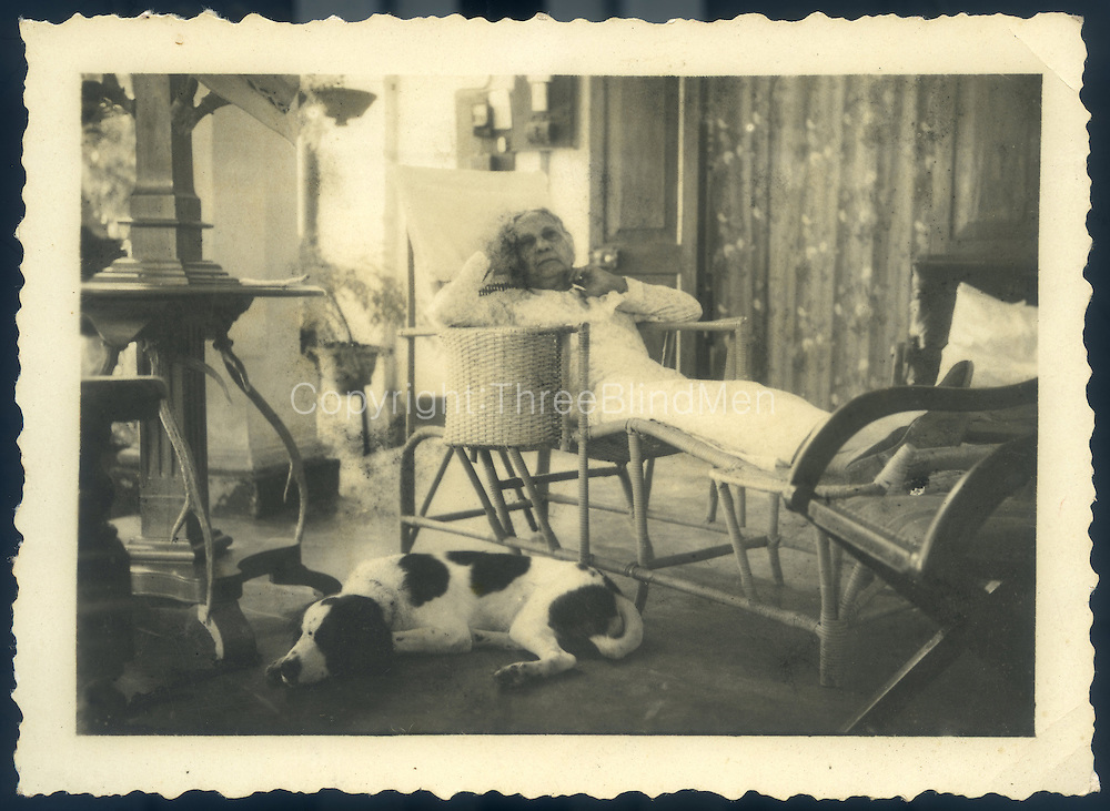"""""""Mater (Mrs F.G.S) at Weimar..My Grandmother Spittel""""  Could her name be Zilla? .This is R.L. Spittel's mother."""