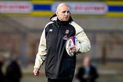 England U20 coach James Scaysbrook - Mandatory by-line: Robbie Stephenson/JMP - 15/03/2019 - RUGBY - Franklin's Gardens - Northampton, England - England U20 v Scotland U20 - Six Nations U20