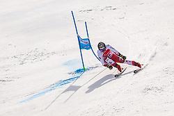 02.03.2020, Hannes Trinkl Weltcupstrecke, Hinterstoder, AUT, FIS Weltcup Ski Alpin, Riesenslalom, Herren, 2. Lauf, im Bild Manuel Feller (AUT) // Manuel Feller of Austria in acrion during his 2nd run of men's Giant Slalom of FIS ski alpine world cup at the Hannes Trinkl Weltcupstrecke in Hinterstoder, Austria on 2020/03/02. EXPA Pictures © 2020, PhotoCredit: EXPA/ Johann Groder