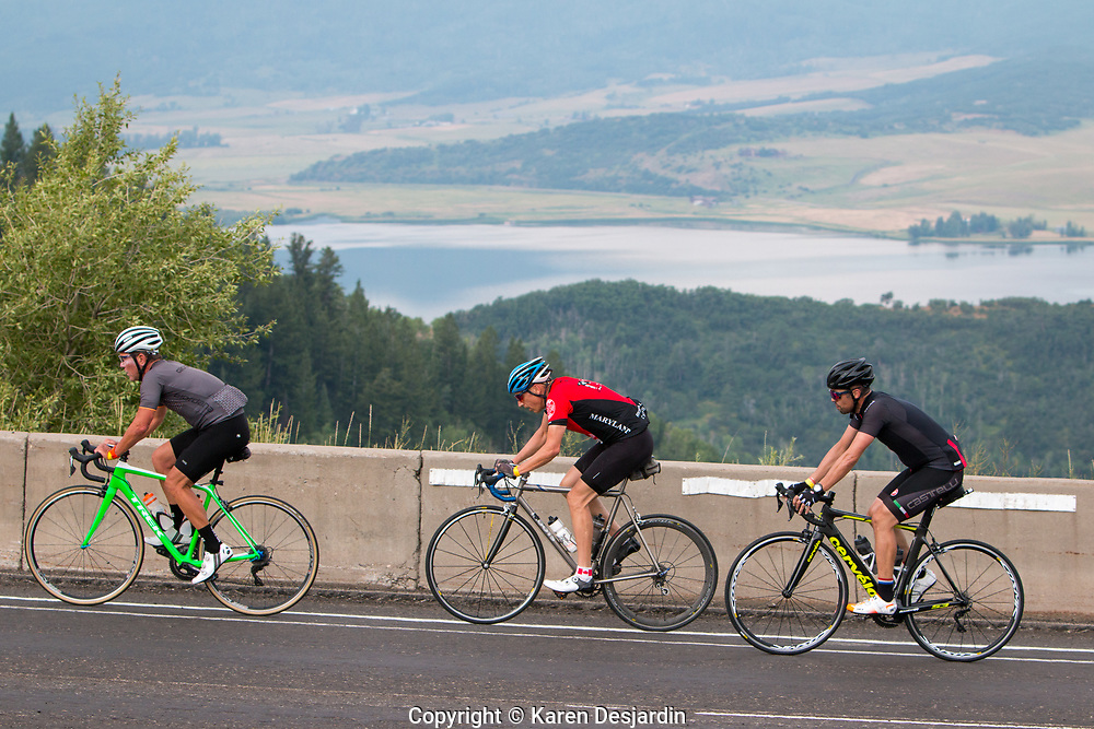 Rabbit Ears Pass, 116 mile course, 2018 Tour de Steamboat