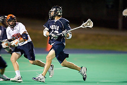 Georgetown Hoyas M Dan D'Agnes (13)..The Virginia Cavaliers men's lacrosse team faced the Georgetown Hoyas in a Fall Ball Scrimmage held at the University Hall Turf Field in Charlottesville, VA on October 12, 2007.