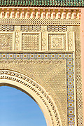Rissani Gate, the famous doorway or gateway to the Erg Chebbi dunes, Rissani, Southern Morocco, 2016-04-24.