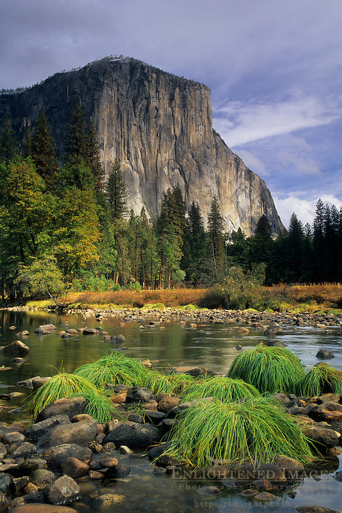 El Capitan over the Merced River, Gates of the Valley, Yosemite Valley Yosemite National Park, CALIFORNIA