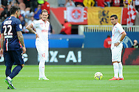 Deception Lille - Nolan ROUX / LOPES - 25.04.2015 - Paris Saint Germain / Lille - 34eme journee de Ligue 1<br />