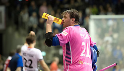 BERLIN - Indoor Hockey World Cup<br /> Final: Germany - Austria<br /> foto: Tobias Walter (GK)  <br /> WORLDSPORTPICS COPYRIGHT FRANK UIJLENBROEK