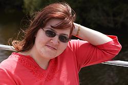 Portrait of a woman; Community Care Project user,