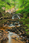 Beulach Ban Falls<br /> Cape Breton Highlands National Park<br /> Nova Scotia<br /> Canada