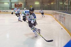 Maks Selan of HDD Telemach Olimpija during ice hockey match between HK Playboy Slavija and HDD Telemach Olimpija in semi-final of Slovenian Cup, on November 10, 2015  in Ledena Dvorana Zalog, Ljubljana, Slovenia. Photo by Urban Urbanc / Sportida