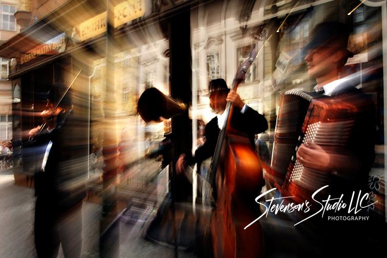 Street Musicians in Prague