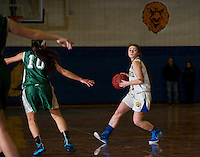 Gilford variety basketball with Newfound February 17, 2015.  Karen Bobotas for the Laconia Daily Sun