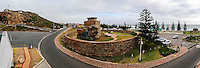 Mossel Bay lies on the Indian Ocean coast of South Africa and is part of the Garden Route. Panorama.