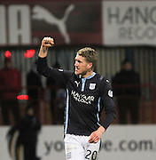 James McPake celebrates after scoring - Dundee v Ross County, SPFL Premiership at Dens Park<br /> <br />  - &copy; David Young - www.davidyoungphoto.co.uk - email: davidyoungphoto@gmail.com