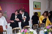 SIR JOHN MADEJSKI; STEPHEN FRY, Annual Dinner. Royal Academy of Arts. Piccadilly. London. 8 June 2010. -DO NOT ARCHIVE-© Copyright Photograph by Dafydd Jones. 248 Clapham Rd. London SW9 0PZ. Tel 0207 820 0771. www.dafjones.com.