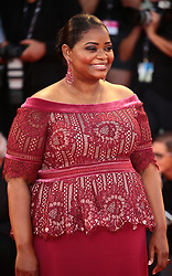 Octavia Spencer  walks the red carpet ahead of the 'The Shape Of Water' screening during the 74th Venice Film Festival in Venice, Italy, on August 31, 2017. (Photo by Matteo Chinellato/NurPhoto/Sipa USA)