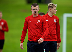 CARDIFF, WALES - Tuesday, September 4, 2018: Wales' Ben Woodburn during a training session at the Vale Resort ahead of the UEFA Nations League Group Stage League B Group 4 match between Wales and Republic of Ireland. (Pic by David Rawcliffe/Propaganda)