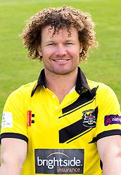 Hamish Marshall of Gloucestershire Cricket poses for a headshot in the NatWest T20 Blast kit - Mandatory by-line: Robbie Stephenson/JMP - 04/04/2016 - CRICKET - Bristol County Ground - Bristol, United Kingdom - Gloucestershire  - Gloucestershire Media Day