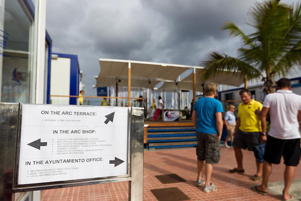 SPAIN, Gran Canaria, Las Palmas. 17th November 2011. Pre ARC Start.
