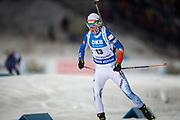 &Ouml;STERSUND, SVERIGE - 2017-12-03: Mari Laukkanen under damernas jaktstart t&auml;vling under IBU World Cup Skidskytte p&aring; &Ouml;stersunds Skidstadion den 1 december 2017 i &Ouml;stersund, Sverige.<br /> Foto: Johan Axelsson/Ombrello<br /> ***BETALBILD***