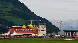 04.09.2011, Flugplatz, Zell am See, AUT, AIR EXPO, ZELL AM SEE, FLUGSHOW, im Bild ein Gyrocopter im Überflug // during the AIR EXPO, ZELL AM SEE, AIR-SHOW, Salzburg, Austria,2011-09-04, EXPA Pictures © 2011, PhotoCredit: EXPA/ J. Feichter
