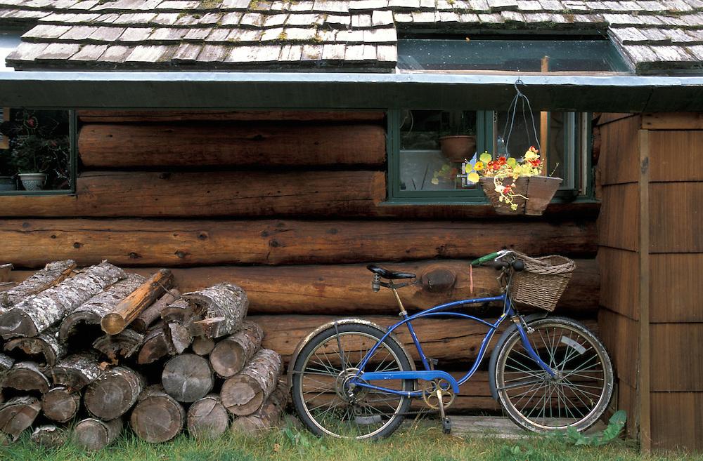 Kachemak Bay Wilderness Logde near Homer, Alaska, USA