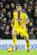 Crystal Palace #18 James McArthur during the Premier League match between Brighton and Hove Albion and Crystal Palace at the American Express Community Stadium, Brighton and Hove, England on 4 December 2018.
