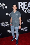 """LOUIS GIORDANO attends the Los Angeles Screening of Fox Searchlight's """"Ready or Not"""" at ArcLight Culver City in Culver City, California."""