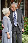 Newly wed elderly couple.
