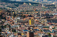 la candelaria Bogota Skyline cityscape  capital city of Colombia South America