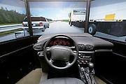 Simulateur de conduite Virage de CAA Québec,  Montreal, Québec, Canada, professional photographer, Marc Gibert, adecom, adecom.ca,  Corporate / Corporatif, © Photo Marc Gibert / adecom.ca, www.adecom.ca