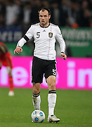 HEIKO WESTERMANN.GERMANY.GERMANY V IVORY COAST.VELTINS ARENA, GELSENKIRCHEN, GERMANY.18 November 2009.GAB4659..  .WARNING! This Photograph May Only Be Used For Newspaper And/Or Magazine Editorial Purposes..May Not Be Used For, Internet/Online Usage Nor For Publications Involving 1 player, 1 Club Or 1 Competition,.Without Written Authorisation From Football DataCo Ltd..For Any Queries, Please Contact Football DataCo Ltd on +44 (0) 207 864 9121
