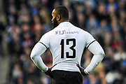 Semi Radradra during the 2018 Autumn Test match between Scotland and Fiji at Murrayfield, Edinburgh, Scotland on 10 November 2018.