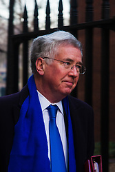 Downing Street, London, January 20th 2015. Ministers attend the weekly cabinet meeting at Downing Street. PICTURED: Defence Secretary Michael Fallon