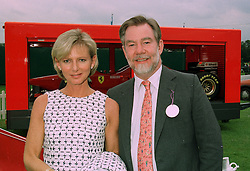 The EARL & COUNTESS OF BRADFORD at a polo match in Cirencester on 24th June 1997. LZP 26