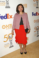 March 9, 2019 - Los Angeles, CA, USA - LOS ANGELES - MAR 9:  Adele Lim at the 50th NAACP Image Awards Nominees Luncheon at the Loews Hollywood Hotel on March 9, 2019 in Los Angeles, CA (Credit Image: © Kay Blake/ZUMA Wire)